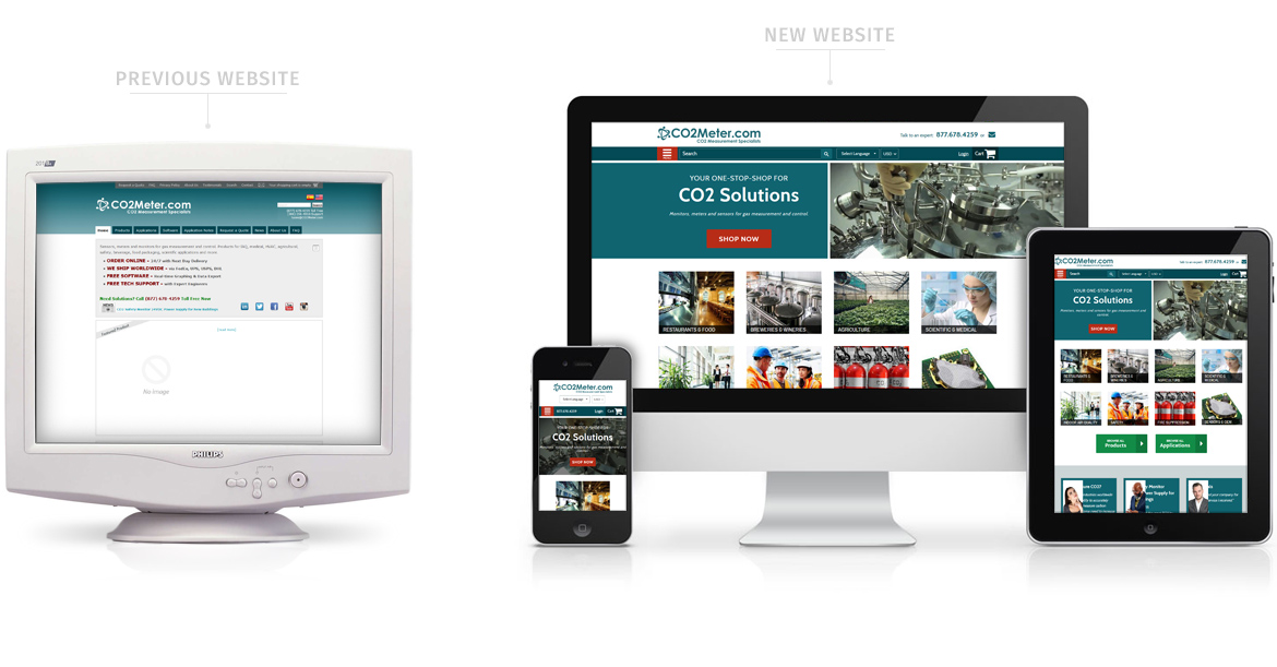 Shopify Redesign Website
