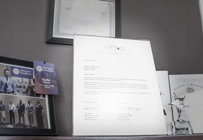 Ottawa Savings Bank Letter of Recommendation